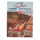 The Sealtest Food Adviser Summer 1940 Cookbook Vintage