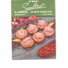 The Sealtest Food Adviser Spring 1940 Cookbook Vintage