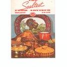 The Sealtest Food Adviser Holiday 1940 Cookbook Vintage