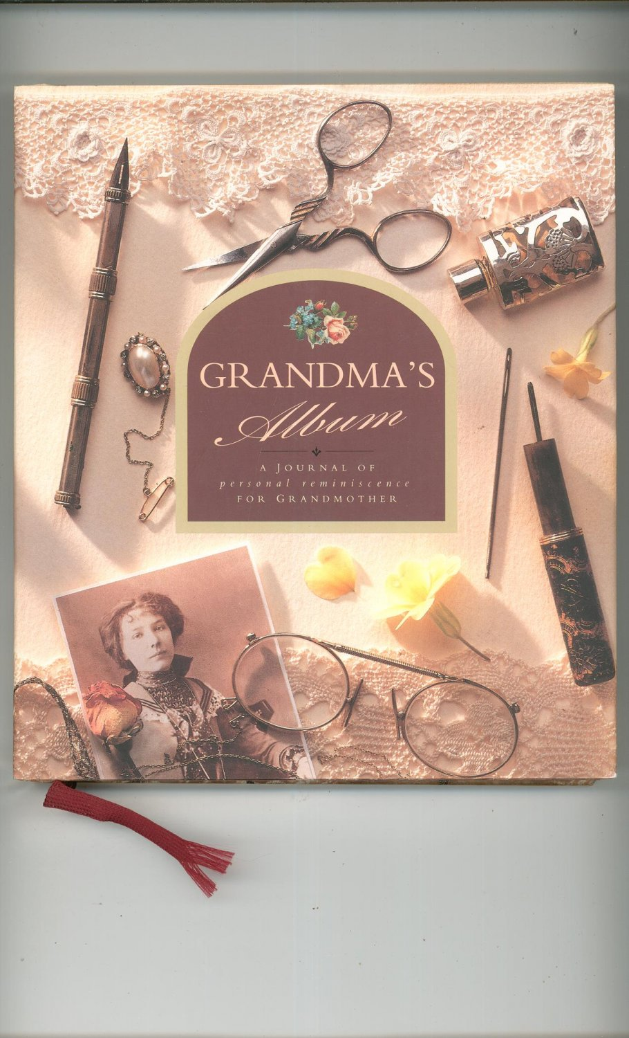 Grandma's Album Journal Of Personal Reminiscence For Grandmother 185833103x Never Used