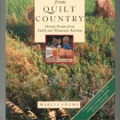 Cooking From Quilt Country Cookbook by Marcia Adams Mennonite & Amish 0517568136