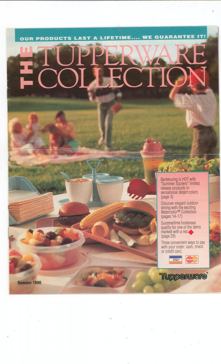 The Tupperware Collection Catalog Summer 1990