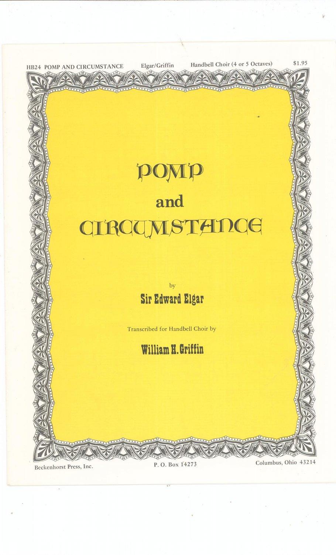 Pomp And Circumstance Handbell Choir By Sir Edward Elgar  HB24