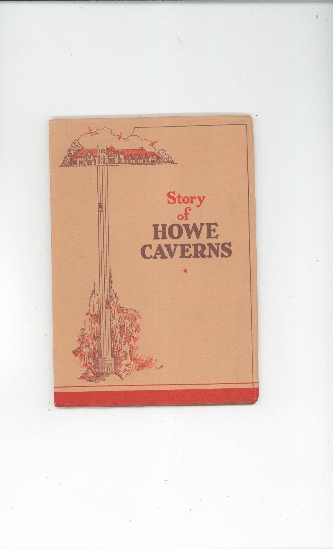 Vintage Story Of Howe Caverns Illustrated By Virgil H. Clymer 1954