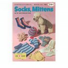 Vintage Coats & Clark&#39;s Book No. 182 Socks Mittens Accessories  First Edition