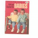 Vintage Coats & Clark's Book No. 146 Knit and Crochet for Babies