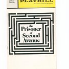 Playbill The Prisoner Of Second Avenue Eugene O'Neill  Theatre Souvenir