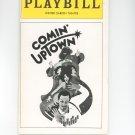 Playbill Comin' Uptown Winter Garden Theatre Souvenir 1979
