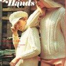 Golden Hands Part 49 Smart Set In Aran Crochet Embroidery Vintage
