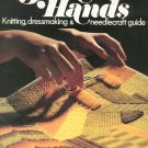 Golden Hands Part 4 Knitting Dressmaking Needlecraft Guide Vintage