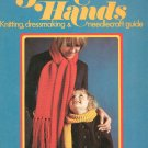 Golden Hands Part 3 Knitting Dressmaking Needlecraft Guide Vintage