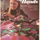 Golden Hands Part 24 Sewing Machines Needlepoint Florentine Stitches Vintage