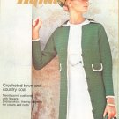 Golden Hands Part 26 Crocheted Town & Country Coat Needlepoint Dressmaking Vintage