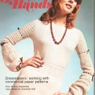 Golden Hands Part 34 Line Draperies Lacy Knit Dress Paper Patterns  Vintage