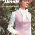 Golden Hands Part 32 Pretty Jumper Dresses Making Bolsters  Vintage