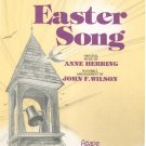 Easter Song Handbells Music Anne Herring John F. Wilson