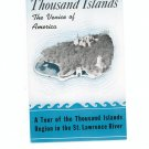 Thousand Islands The Venice Of America  Brochure / Guide Pilgrim Boat Line