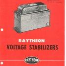 Vintage Raytheon Voltage Stabilizers Catalog 4 - 260