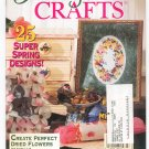Floral & Nature Crafts Magazine March 1996 Better Homes and Garden Back Issue
