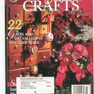 Floral & Nature Crafts Magazine November 1995 Better Homes and Garden Back Issue