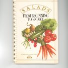 Salads From Beginning To Endive Cookbook / Recipes From Kraft 0875020739 First Printing