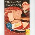 Vintage Pillsbury's Best 12th Grand National Bake Off Cookbook