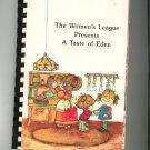 Regional The Women's League Presents A Taste Of Eden Cookbook North Carolina