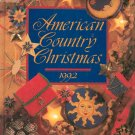 American Country Christmas 1992 First Printing 0848710932