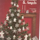 Crocheted Snowflakes & Angels  Leisure Arts 255 Wilma Stash