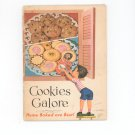 Vintage Cookies Galore Cookbook By General Foods Home Baked Are Best 1956