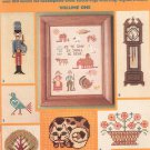 Charted Needlework Designs Volume One Needlepoint Cross Stitch Rugs Knitting Crochet Leisure Arts 49