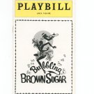 Playbill Bubbling Brown Sugar Anta Theatre Souvenir Program 1977
