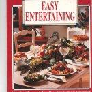 Betty Crocker's Easy Entertaining Cookbook First Edition 0130937258