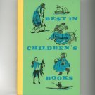 Vintage Best In Children's Books Volume 13 1958 Nelson Doubleday