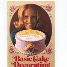 Basic Cake Decorating The Wilton Way Vintage Item
