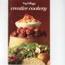 Vintage Kay Kellogg's Creative Cookery Cookbook 1971