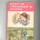 Vintage Best In Children&#39;s Books Volume 34 1960 Nelson Doubleday