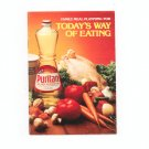 Family Meal Planning For Todays Way Of Eating Cookbook By Puritan