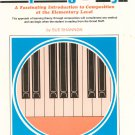 Composing At The Keys Book 2 By Sue Shannon Vintage 1976