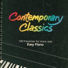 Contemporary Classics 100 Favorites For Voice And Easy Piano