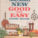 Betty Crockers New Good And Easy Cook Book Cookbook Vintage First Edition
