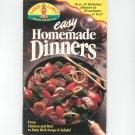 Land O Lakes Easy Homemade Dinners Cookbook 1993