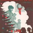 Lot Of 3 Christmas Sheet Music Frosty I Saw Mommy Kissing Thirty Two Feet & Eight Little Tails