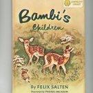 Vintage Bambi's Children & Old Rosie Horse Nobody Understood Dandelion Library Hard Cover