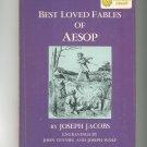 Vintage Best Loved Fables Of Aesop & Nonsense Alphabets Dandelion Library Hard Cover