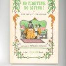 Vintage No Fighting No Biting By Else Holmelund Minarik 1958 Hard Cover