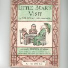 Vintage Little Bear's Visit By Else Holmelund Minarik 1961 Hard Cover
