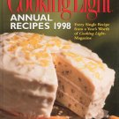 Cooking Light Annual Recipes 1998 Cookbook 084871598-5 Hard Cover