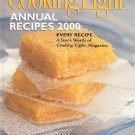Cooking Light Annual Recipes 2000 Cookbook 0848719107 Hard Cover