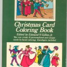 Christmas Card Coloring Book Gillon 0486228681 Dover